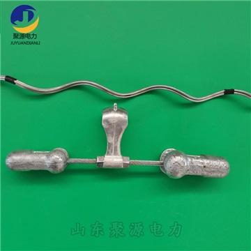 光纜防震錘OPGW光纜配套防護金具4D綁線防震錘