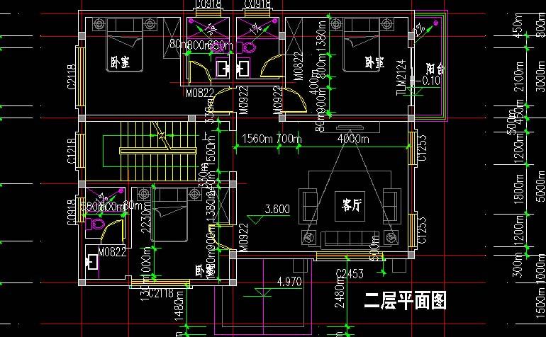 12×9米三层实用房屋外观设计效果图