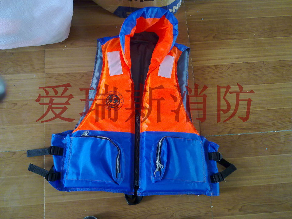 玻璃钢救生浮,救生浮具,三片式救生衣,海事救生衣,新标准救生衣