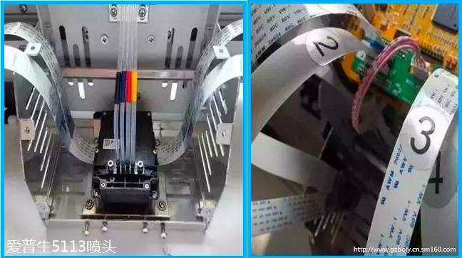 爱普生5113喷头,压电喷头,压电写真机喷头,写真机生产