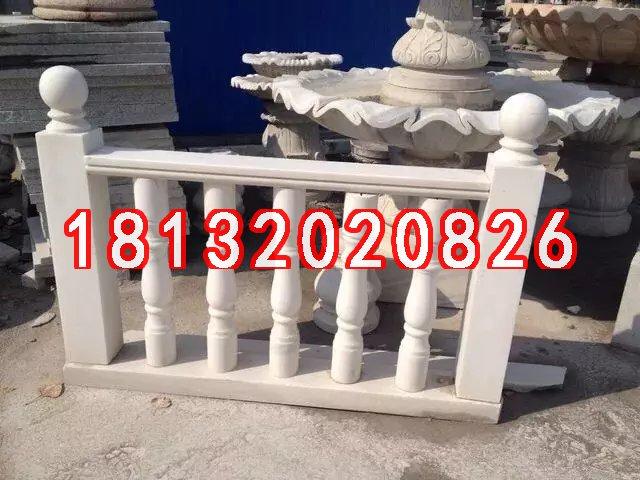 石雕栏杆,汉白玉栏杆雕塑