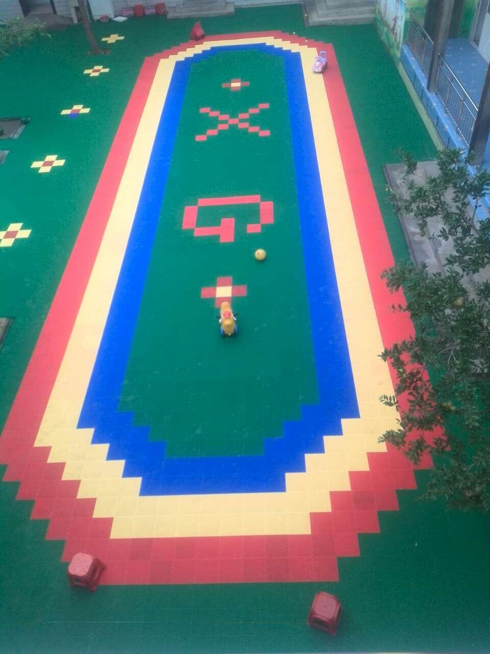 运动场地板,幼儿园地板,悬浮式拼装地板