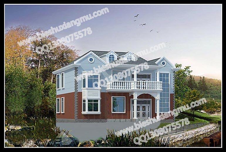 15×10米二层农村别墅设计图纸及效果图