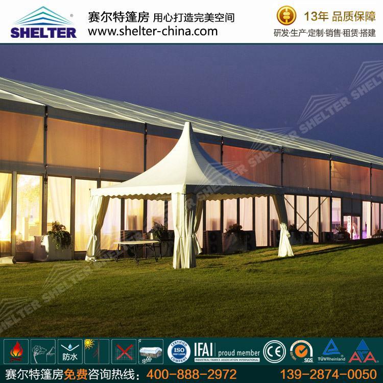 户外尖顶篷房厂家-铝合金欧式帐篷-欧式篷房供应