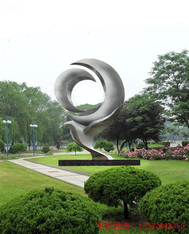 景观雕塑,公园雕塑,                         城市不锈钢雕塑设计