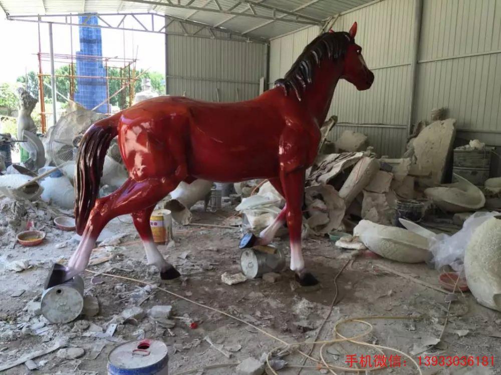 拉萨市玻璃钢动物雕塑