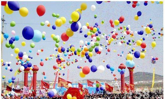 联谊活动现场气球装饰,开工剪彩现场气球装饰,启动仪式气球装饰等等各图片