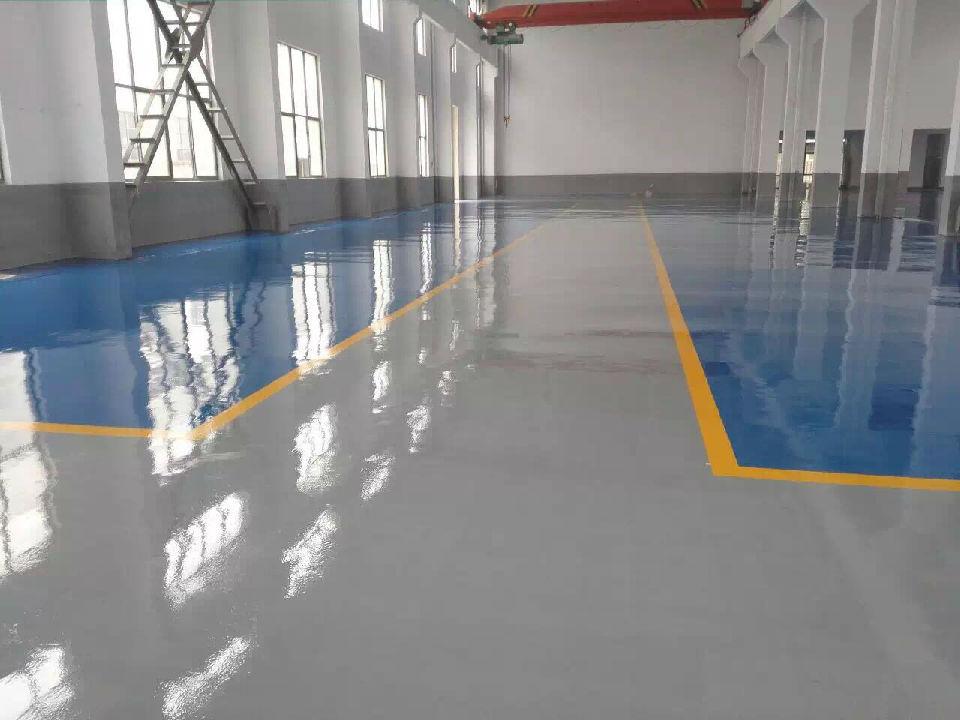 水性环氧地坪漆出售 防尘防滑 水性环氧地坪漆施工