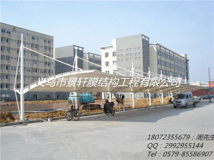 武汉汽车停车棚厂家,荆州钢结构车棚