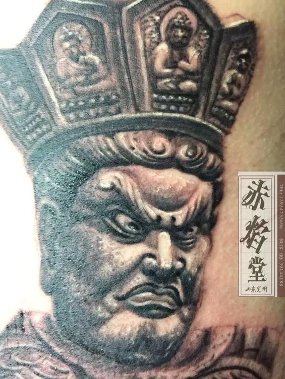 淄博纹身 赵云纹身图案