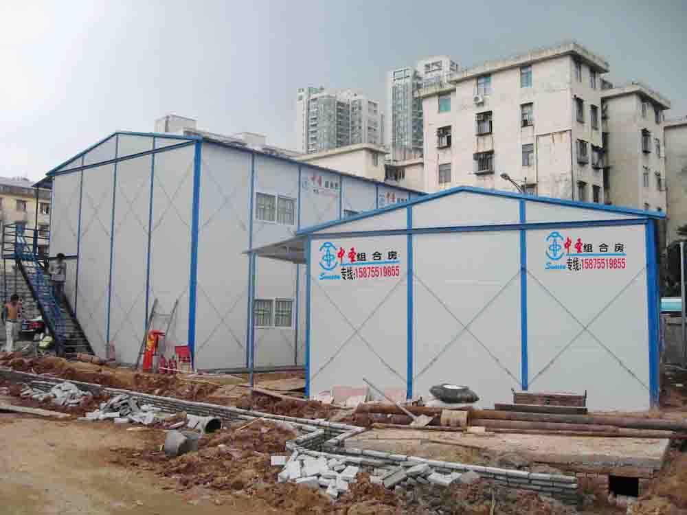 供应深圳防火轻钢结构活动板房销售