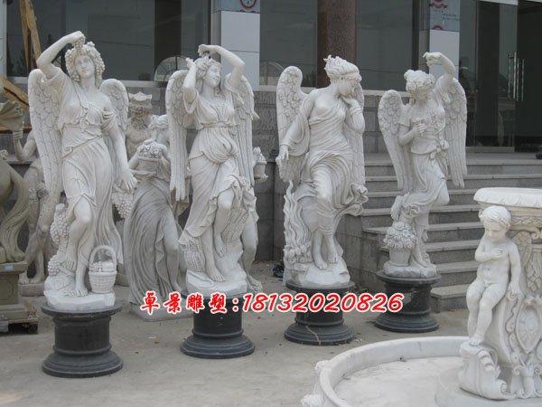 在公园里、大街小巷中惠安石雕人物是摆放最多的一种石雕,生活中都可以看到石雕人物,在我们的城市当中,很多地方都有它们的身影。它们是人类的精神产物,也是人类文化的重要组成部分,因此人物雕塑具有着非常深厚的文化内涵。   首先让我们了解它的历史性的文化内涵,不同时期的人们具有不同的认识观与价值观,而这些最明显的表现就是在不同时期的人物雕塑上。不同时期的人物雕塑通过不同的造型和雕刻手法来表达人们对于自然的探索与认知,对于美好精神的向往与追求。   惠安 石雕人物还有一定的人文性,人物雕塑本身就是以人为本的,